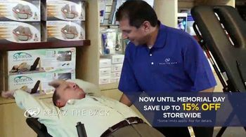 Relax the Back Memorial Day Event TV Spot, 'A Better Morning' - Thumbnail 6