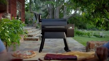 Traeger Wood Fire Grills TV Spot, 'Stop Cooking Food That Tastes Like Gas' - Thumbnail 9