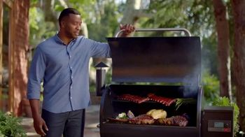 Traeger Wood Fire Grills TV Spot, 'Stop Cooking Food That Tastes Like Gas' - Thumbnail 8