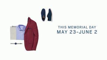 Men's Wearhouse Big Deal Event TV Spot, 'Memorial Day: Linen, Dress Shirts & Suits'