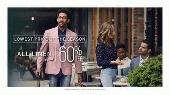 Men's Wearhouse Big Deal Event TV Spot, 'Memorial Day: Linen, Dress Shirts & Suits' - Thumbnail 2