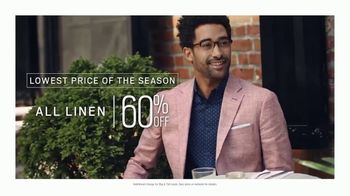 Men's Wearhouse Big Deal Event TV Spot, 'Memorial Day: Linen, Dress Shirts & Suits'