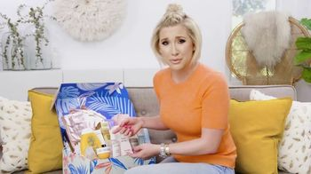 FabFitFun.com TV Spot, 'Treat Yourself' Featuring Savannah Chrisley - Thumbnail 4