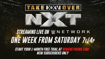 WWE Network TV Spot, 'NXT TakeOver: XXV' - Thumbnail 9