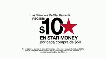 Macy's Días Star Money TV Spot, '$10 dólares en Star Money' [Spanish] - Thumbnail 3