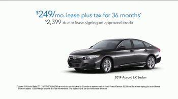 2019 Honda Accord LX TV Spot, 'Random Acts of Helpfulness: Driving Range' [T2] - Thumbnail 8