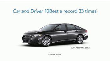2019 Honda Accord LX TV Spot, 'Random Acts of Helpfulness: Driving Range' [T2] - Thumbnail 9