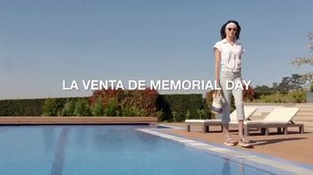 Macy's Venta de Memorial Day TV Spot, 'Piscina' [Spanish] - Thumbnail 1