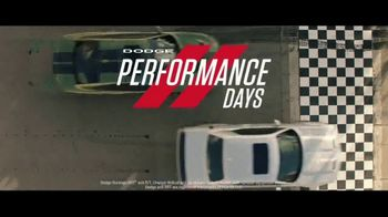 Dodge Performance Days TV Spot, 'Fast Lane' [T2] - Thumbnail 7