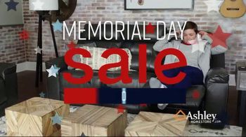 Ashley HomeStore Memorial Day Sale TV Spot, 'Reclining Sofas and Sectionals' Song by Midnight Riot - Thumbnail 2