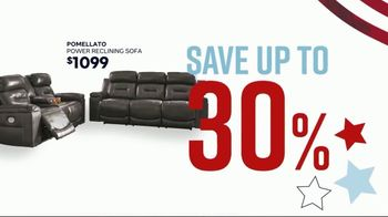 Ashley HomeStore Memorial Day Sale TV Spot, 'Reclining Sofas and Sectionals' Song by Midnight Riot - Thumbnail 3
