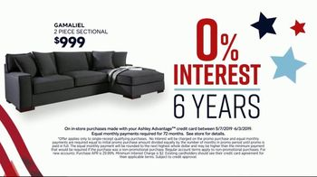 Ashley HomeStore Memorial Day Sale TV Spot, 'Reclining Sofas and Sectionals' Song by Midnight Riot - Thumbnail 4