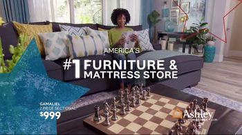 Ashley HomeStore Memorial Day Sale TV Spot, 'Reclining Sofas and Sectionals' Song by Midnight Riot - Thumbnail 5