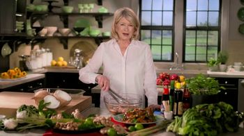 Postmates TV Spot, 'Thai Chicken Wings' Featuring Martha Stewart - Thumbnail 1