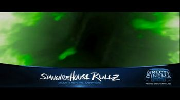 DIRECTV Cinema TV Spot, 'Slaughterhouse Rulez'