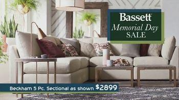 Bassett Memorial Day Sale TV Spot, 'The Weekend You've Been Waiting For: No Interest Financing' - Thumbnail 2
