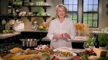 Postmates TV Spot, 'Martha Stewart Cooks Some Postmates: Pasta Carbonara' - Thumbnail 1