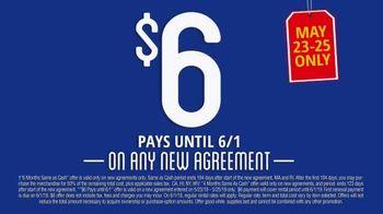 Rent-A-Center TV Spot, '$6 Pays Until June 1st' - Thumbnail 8