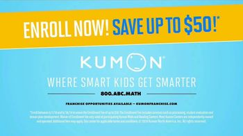 Kumon Math & Reading Program TV Spot, 'Help Keep Skills Sharp' - Thumbnail 7