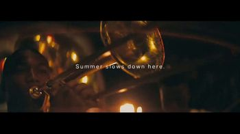 Visit New Orleans TV Spot, 'Summer Slows Down Here'