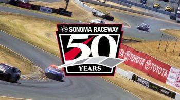Sonoma Raceway TV Spot, '2019 Toyota Save Mart 350'