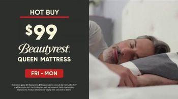 Mattress Firm Memorial Day Sale TV Spot, 'Beautyrest Queen Mattress & Purple Pillow' - Thumbnail 2