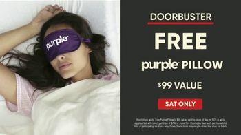 Mattress Firm Memorial Day Sale TV Spot, 'Beautyrest Queen Mattress & Purple Pillow' - Thumbnail 3