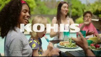Kohl's Memorial Day Weekend Sale TV Spot, 'Tees, Swimwear and Beach Towels' - Thumbnail 1