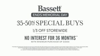 Bassett Memorial Day Sale TV Spot, 'The Weekend You've Been Waiting For: Sectionals & Beds' - Thumbnail 4