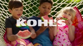 Kohl's Memorial Day Weekend Sale TV Spot, 'Kids Clothing, Flip Flops and Chair' - Thumbnail 1