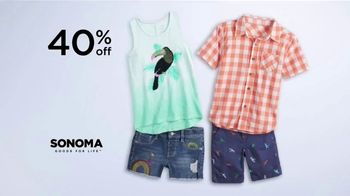 Kohl's Memorial Day Weekend Sale TV Spot, 'Kids Clothing, Flip Flops and Chair' - Thumbnail 3