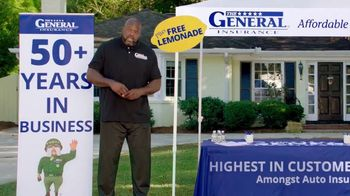 The General TV Spot, 'Lemonade Stand' Featuring Shaquille O'Neal - Thumbnail 9