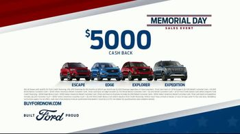 Ford Memorial Day Sales Event TV Spot, 'Make Your Move: SUVs' [T2] - Thumbnail 7