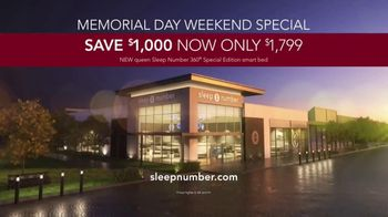 Sleep Number Memorial Day Weekend Special TV Spot, 'Hit the Ground Running: Plus Zero Interest' - Thumbnail 7