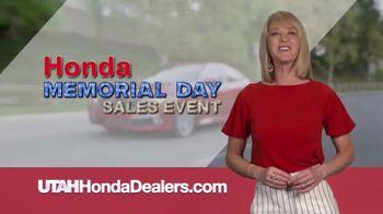 Honda Memorial Day Sales Event TV Spot, 'Nonstop Savings' [T2] - Thumbnail 3