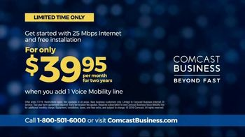 Comcast Business TV Spot, 'A Whole Business Package' - Thumbnail 7