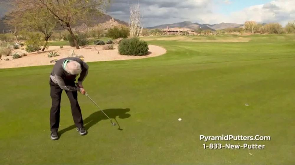 Revolution Golf Pyramid Putters Tv Commercial Never Miss