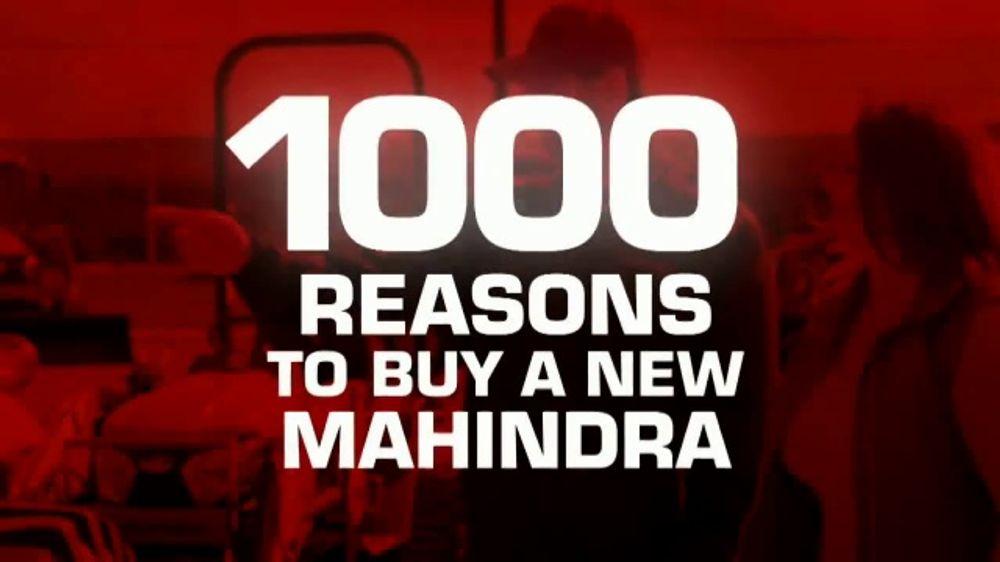 Mahindra TV Commercial, '1000 Reasons'