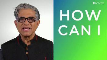 Acorns TV Spot, 'CNBC: Live Purposely' Featuring Deepak Chopra - Thumbnail 3