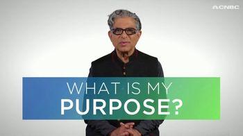 Acorns TV Spot, 'CNBC: Live Purposely' Featuring Deepak Chopra - Thumbnail 4