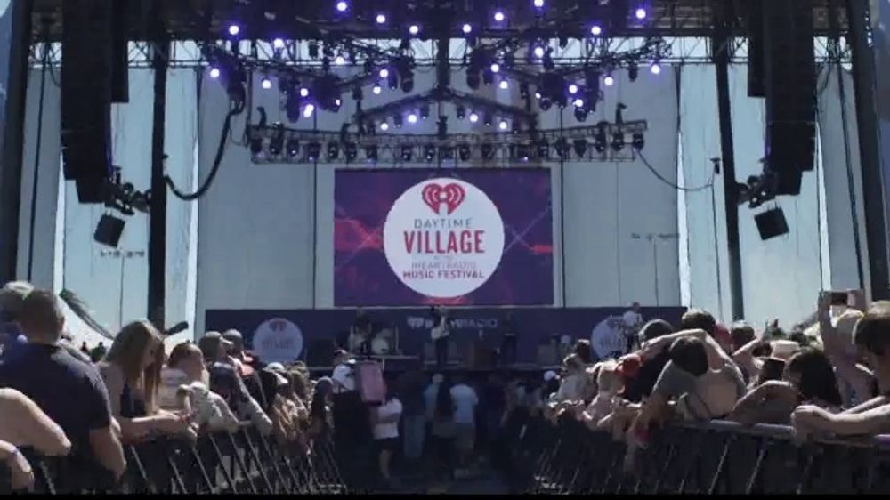 iHeartRadio Music Festival TV Commercial, '2019 Daytime Stage Lineup' -  Video