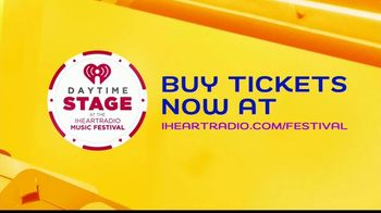 iHeartRadio Music Festival TV Spot, '2019 Daytime Stage Lineup' - Thumbnail 5