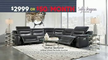 Rooms to Go Memorial Day Sale TV Spot, 'Sofia Vergara Leather Recliner Collection' - Thumbnail 3