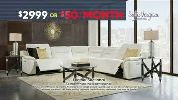 Rooms to Go Memorial Day Sale TV Spot, 'Sofia Vergara Leather Recliner Collection' - Thumbnail 4