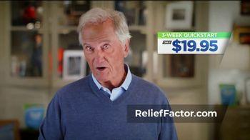 Relief Factor QuickStart TV Spot, 'Pain is No Fun: Alan' Featuring Pat Boone