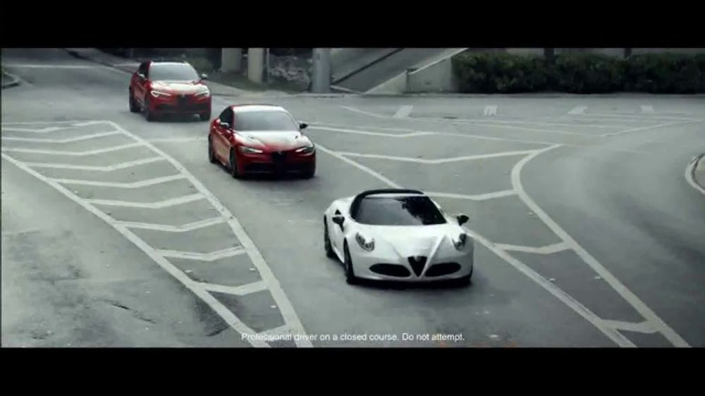 Alfa Romeo Spring Acceleration Event TV Commercial, 'I Am: King of Speed' [T2]