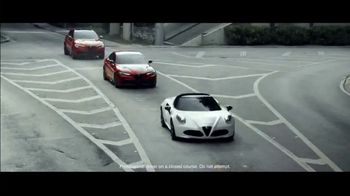 Alfa Romeo Spring Acceleration Event TV Spot, \'I Am: King of Speed\' [T2]