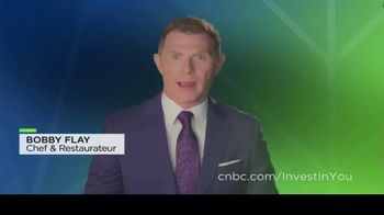 Acorns TV Spot, 'CNBC: Get Ready for the Unexpected' Featuring Chanel Reynolds, Bobby Flay - Thumbnail 3