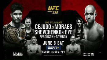 ESPN+ TV Spot, 'UFC 238: Cejudo vs. Morales' - Thumbnail 10