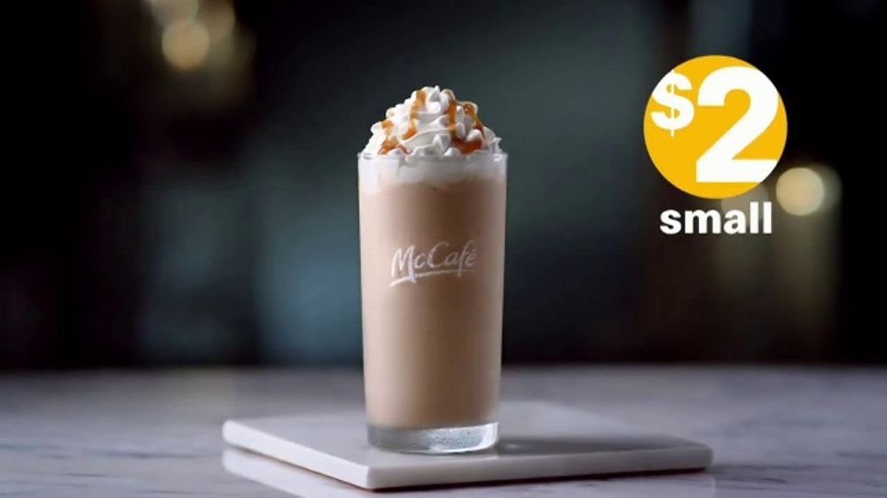 Mcdonald S Tv Commercial We Make Mornings Brighter Flavorful Caramel Frappe Ispot Tv